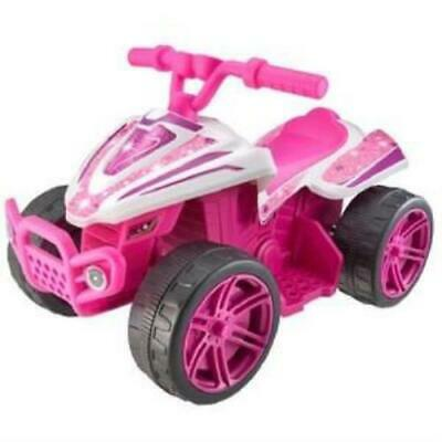 AU99.99 • Buy Battery Operated 6V Electric Quad Bike - Pink / Forward Function