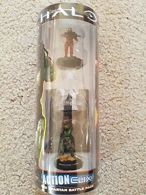 Halo Red Spartan Battle Pack Action Clix • 10£