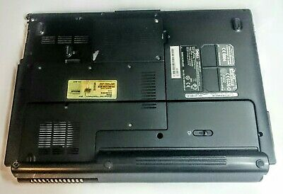 $18.35 • Buy Dell XPS M1530 PP28L Bottom Base Chassis With Covers & Old Battery 0XR533
