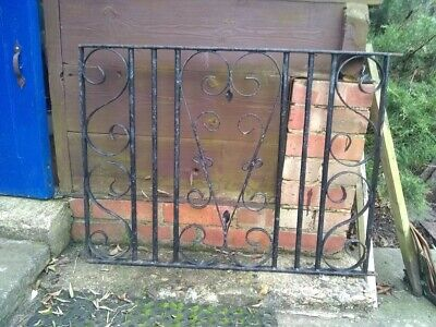 Ornate Wrought Iron Front Garden Gate With Brand New Fittings • 25£
