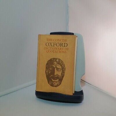 The Concise Oxford Dictionary Of Quotations By Oxford University Press 1966 • 1.40£
