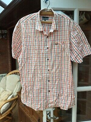 Mens Lincoln Short Sleeve Shirt. Size L • 2.95£