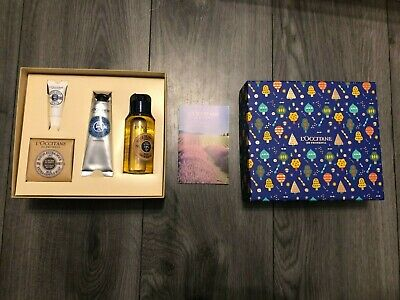 L'Occitane Shea Butter Treats - Shea Shower Oil, Hand Cream, Lip Balm & Soap • 20£