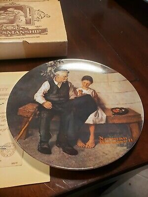 $ CDN11.68 • Buy Norman Rockwell The Lighthouse Keepers Daughter Collector Knowles Limited Plate