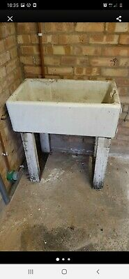 Belfast Sink Unit And Wooden Stand / Legs  • 10£