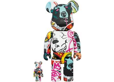 $399.99 • Buy Mishka 400% 100% Bearbrick 2020 Be@rbrick Medicom Toy Limited Rare
