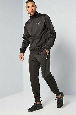 8npv71 Men's Genuine Emporio Armani Ea7 Core Poly Tracksuit Large • 46£