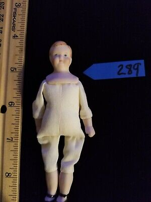 $ CDN29.03 • Buy 1:12 Scale Dollhouse Doll Porcelain BOY~CHILD DOLL!... ~By Katherine Nagy #289