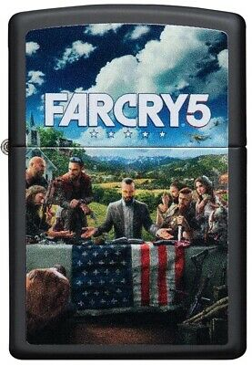 AU35.62 • Buy ZIPPO Far Cry 5, Five, Joseph Seed And His Doomsday Cult, Hope County 49244 L@@K