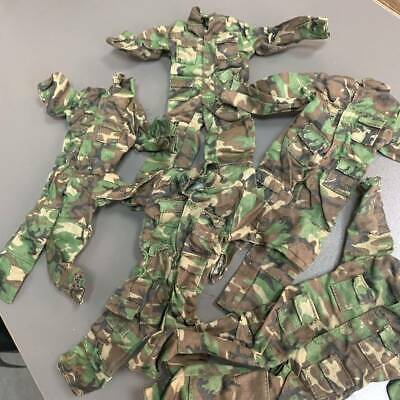 $ CDN15.25 • Buy Lot 5X Camouflage Coveralls Suit Uniforms For 12'' GI JOE 1/6 Scale Dragon WWII