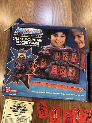 $99.99 • Buy MOTU, Snake Mountain Rescue Game, Masters Of The Universe He-Man