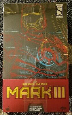 $ CDN785.98 • Buy Hot Toys Marvel IRON MAN Mark III MMS256-D07 DIECAST 1:6 Sideshow Exclusive NEW