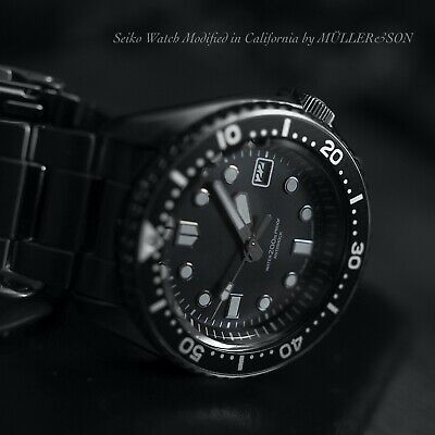 $ CDN629.42 • Buy Müller&Son  Marinemaster  Watch Mod Made From Seiko SKX007 + Seiko Bracelet