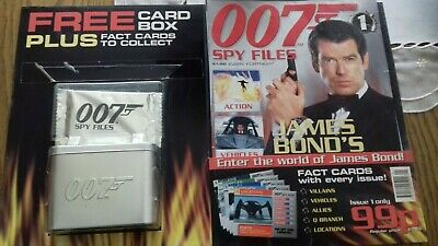 James Bond 007 Spy Files Number 1 Edition Card Box And Cards Still Sealed Oncard • 5.99£