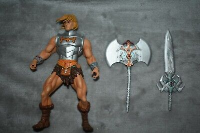 $125 • Buy NECA Masters Of The Universe He-Man Staction Figure Loose Never Displayed NWOB