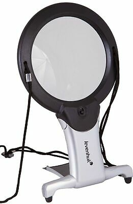 Levenhuk Zeno Vizor N2 Neck Magnifier With LED Light, Comes With Strap And De... • 52.01£