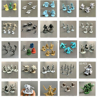 AU6.43 • Buy 50+ Board Game Miniatures Role Playing Zombicide Dungeons & Dragons DND Toy