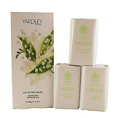 Lily Of The Valley By Yardley Soap Trio 3 X 100 G • 28.22£