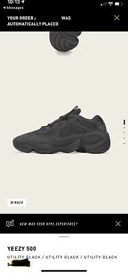 $ CDN434.13 • Buy Yeezy Boost 500 Utility Black 100% Authentic Size 11.5 More Pics Coming Soon