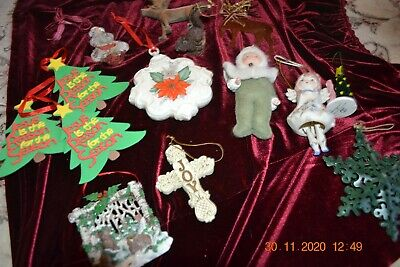 $ CDN17.67 • Buy Lot Of 13 Vintage Christmas Ornaments