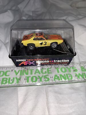 Original Afx Magna-traction # 1904, Plymouth Road Runner, # 43, Banded In Cube • 71.68£