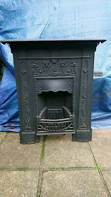 Victorian Style Cast Iron Fireplace • 80£
