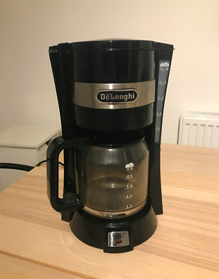 DeLonghi ICM15210 10 Cup Filter Coffee Maker / Black / RRP £50+ • 2£