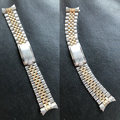 $ CDN12131.49 • Buy Vintage Rolex 2 Tone Jubilee 1959 Big Logo Clasp 55 Attached End Links 6202 6538