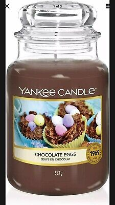 Official Yankee Candle Chocolate Eggs Large  Up To , 150 Hours Burn Time 623g • 14£