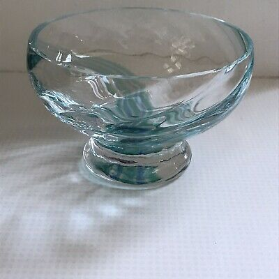 £9.50 • Buy Caithness Glass Bowl ~ Blue And Green Swirl ~ Excellent Condition