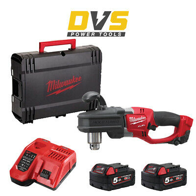 Milwaukee M18CRAD-502X Cordless M18 FUEL Hole Hawg Right Angle Drill Driver Set • 399.90£