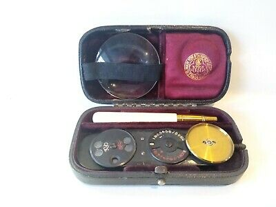 Antique Mawson And Thompson Ophthalmoscope And Case • 60£