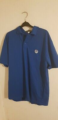 Mens VW Polo Shirt Size L In Good Condition • 12£
