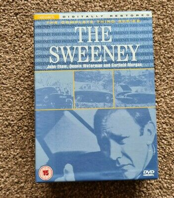 The Sweeney Complete Third Series • 4.99£