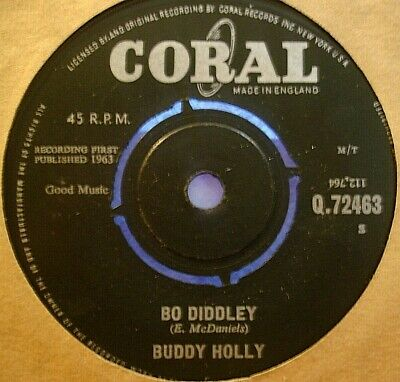 Buddy Holly Bo Diddley / It's Not My Fault - 1963 - 7   • 5.99£