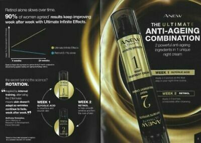 Avon Anew Ultimate Infinite Effects Night Treatment Cream Boxed And Sealed • 7.58£
