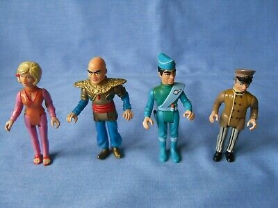 Matchbox Thunderbirds Figures X 4 - Parker - Lady Penelopy - Scott - Hood - 1992 • 1.99£
