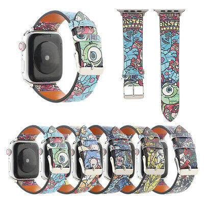 AU17.99 • Buy Genuine Leather Apple Watch Band Strap For IWatch Series SE 6 5 4 3 2 1 44/40mm