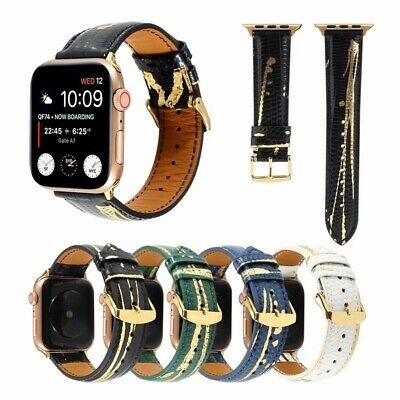 AU18.99 • Buy For IWatch Series SE 6 5 4 3 2 Genuine Leather Apple Watch Band Strap 40mm 44mm