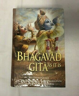 AU17.69 • Buy Bhagavad Gita As It Is By S.Bhaktivedanta Prabhupada NEW & SEALED 9781845990497