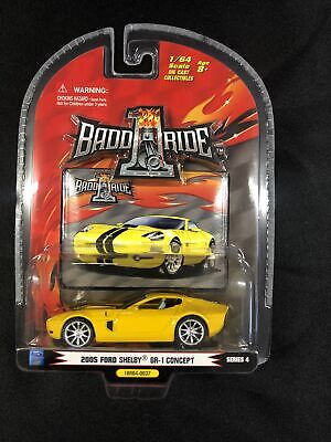$10 • Buy 2005 FORD SHELBY GR- 1 Concept 1 BADD RIDE 1/24 Yellow Series 4