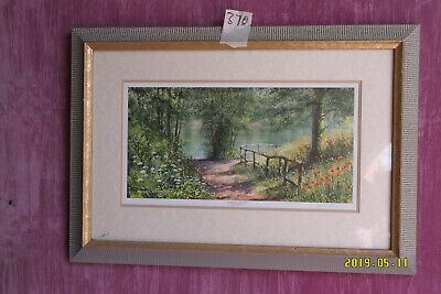 £25 • Buy Print 'Summer Reflections' - Signed Terry Harrison.