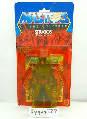 $595 • Buy MOTU, Stratos, Masters Of The Universe, MOC, Sealed Figure, He-Man Carded, MOSC