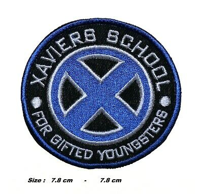 £2.39 • Buy Xavier's School X-men Blue Patch Embroidered Iron/sew On Applique Badge