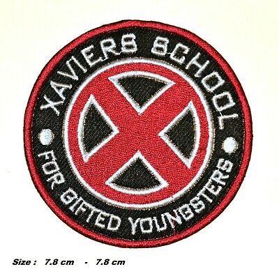 £2.39 • Buy Xavier's School X-men Red Patch Embroidered Iron/sew On Applique Badge