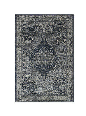 """$110 • Buy Magnolia Home Everly By Joanna Gaines 2'7"""" X 4' Area Rug In Grey Midnight"""
