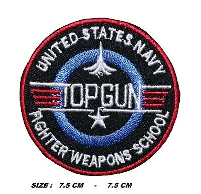 £2.39 • Buy Top Gun Video Game Patch Embroidered Iron Or Sew On Applique Badge Logo