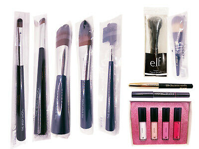 Body Shop Sephora ELF ECOTOOLS RT Make Up Brush - Face Eye Brow Concealer Set • 3.99£