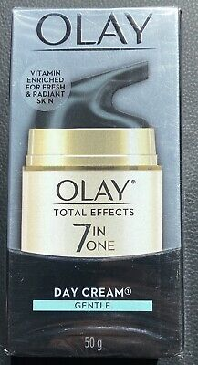 AU23.95 • Buy Olay Total Effects 7-in-1 Anti-Ageing Cream Day Cream Gentle Fragrance Free 50g