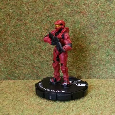 8) Halo Actionclix. 003 - RED SPARTAN & BATTLE RIFLE. See Purchase Options • 1.45£